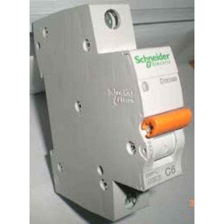 Автоматический выключатель SCHNEIDER BA63 1P 50A C
