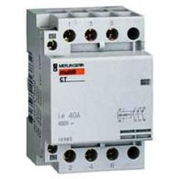 Контактор Schneider СТ 40А  4н.о. 230 VCA   A9C20844