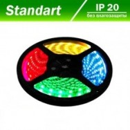 Светодиодная лента 12В B-LED 5050-30W RGB 1м