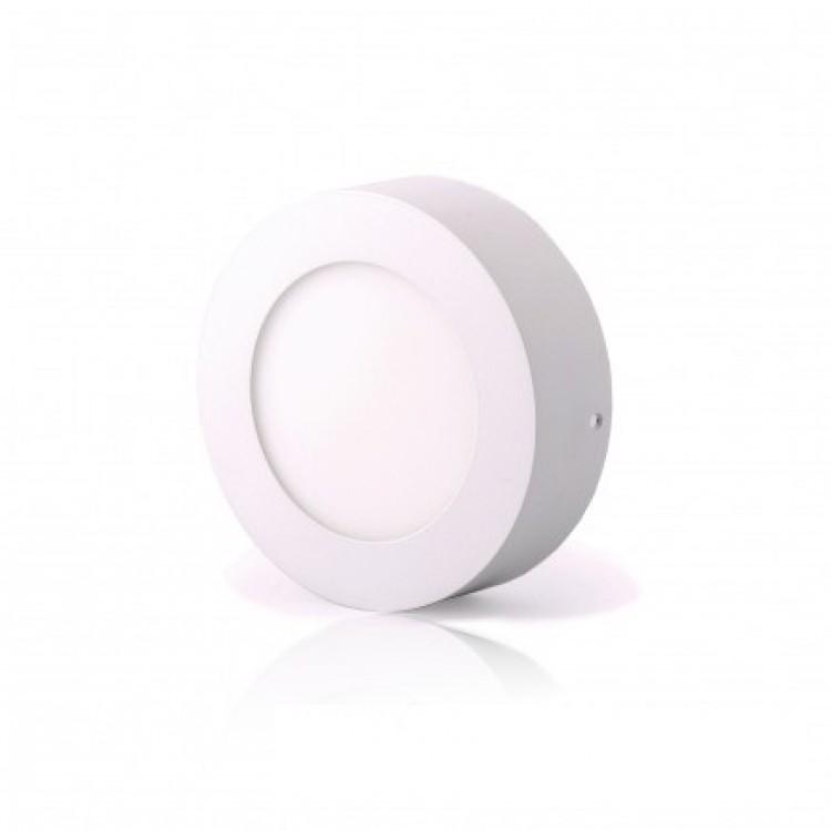 Светодиодный светильник LED-SR-120-6 6Вт 6400К круг накладной 120мм