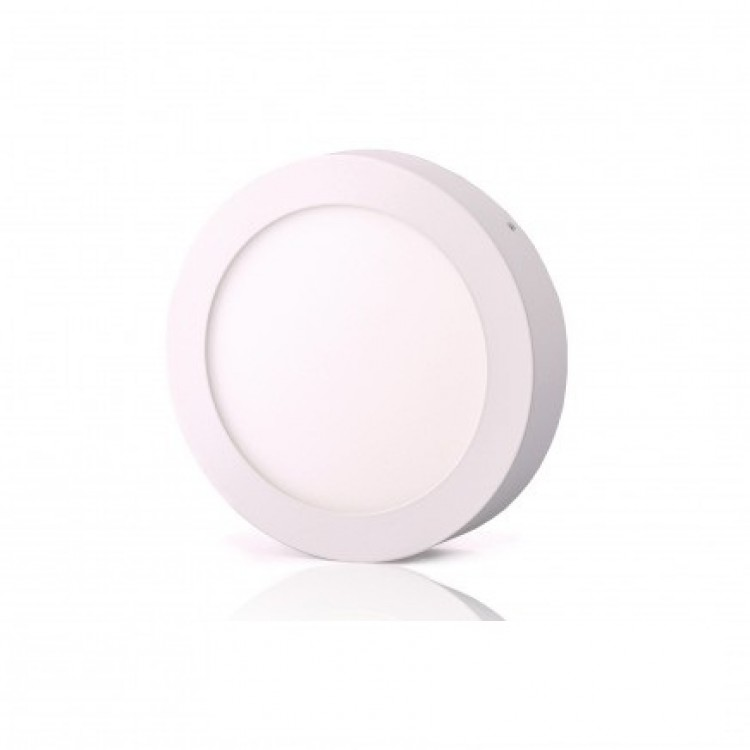 Светодиодный светильник LED-SR-170-12 12Вт 6400К круг накладной 170