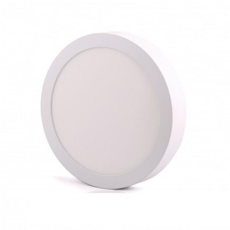 Светодиодный светильник LED-SR-225-18 18Вт 6400К круг накладной 225