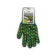 Перчатки  DOLONI №4116 стрейч.  рабочие с ПВХ-точкой,  размер 10