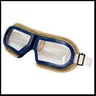 Очки  ЗП-12 резиновые с войлоком, прозрачные