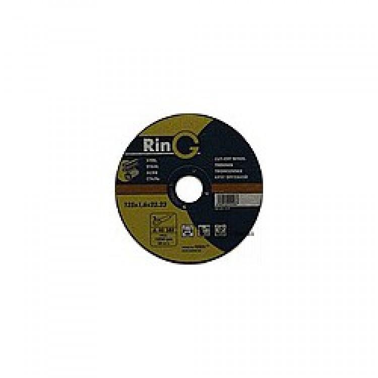Диск отрезной по металлу. RinG 115х1,6х22,23