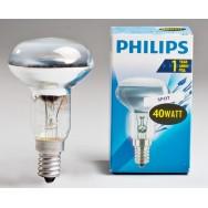 Лампа рефлекторная R50/40W E-14 Philips