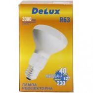Лампа рефлекторная R63/40W E-27 Deluxe