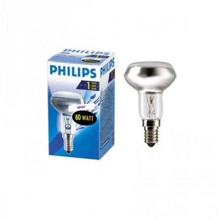 Лампа рефлекторная R50/60W E-14 Philips