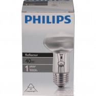 Лампа рефлекторная R63/40W E-27 Philips