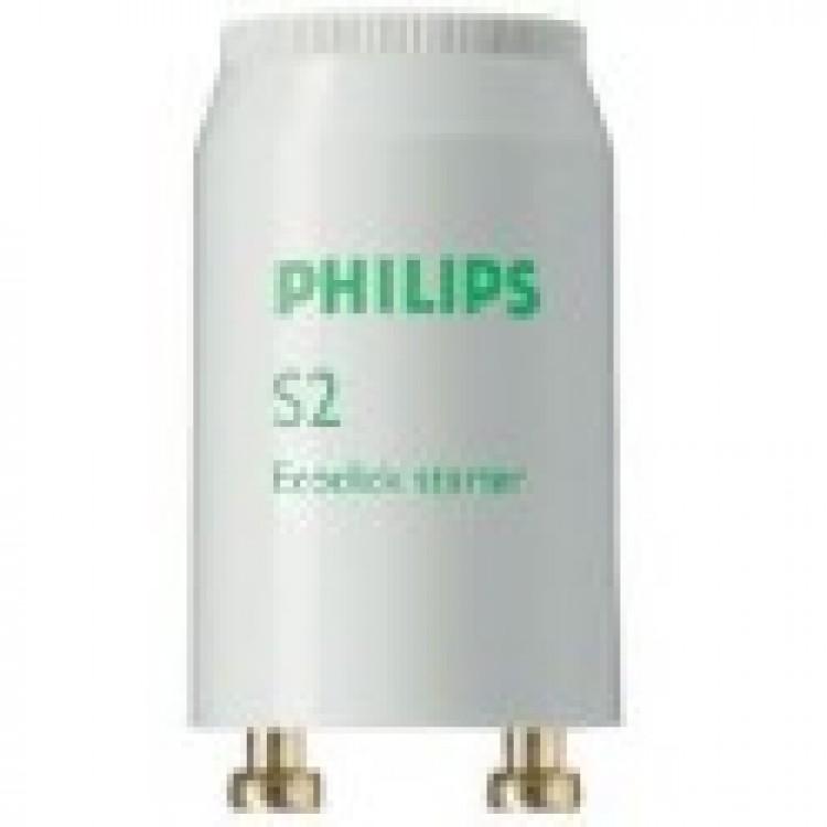 Стартер PHILIPS S2 220V/127 4-22W