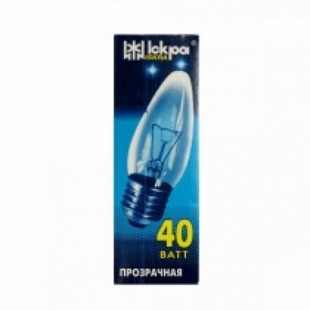 Лампа свеча Е27 40 Вт. в инд.упаковке