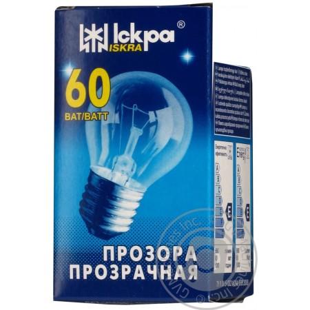 Лампа шар Е27 60 Вт. в инд.упаковке
