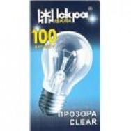 Лампа накаливания 100Вт. в индивидуальной упаковке
