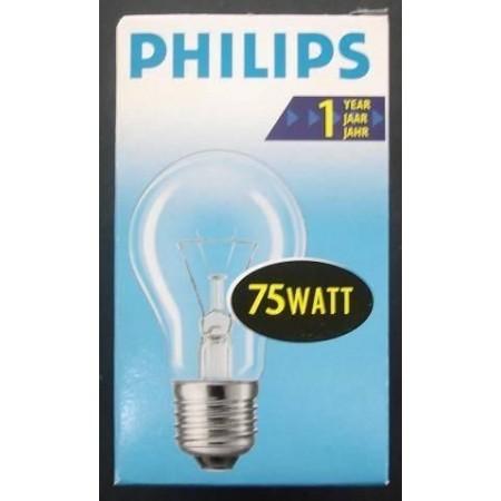 Лампа накаливания ЛОН 75 Вт PHILIPS