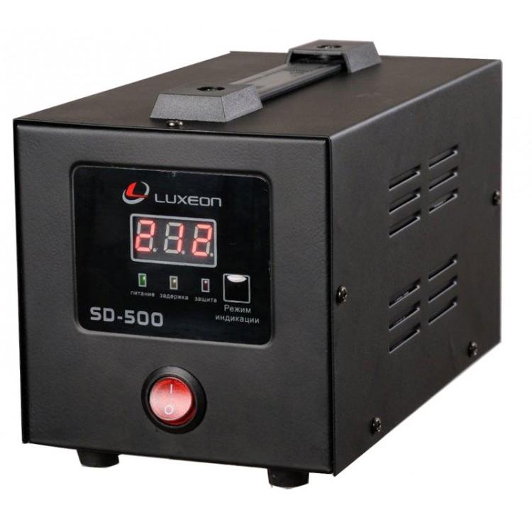 Стабилизатор Luxeon SD-500, 350Вт, цифровой индикатор, железный корпус