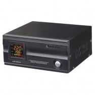 Стабилизатор Luxeon LDR-500VA чорный, 400Вт, цифровой индикатор