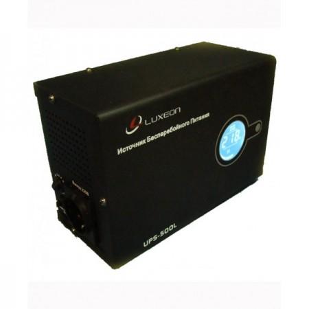 Источник бесперебойного питания Luxeon UPS-500L, 300Вт, 140-270В