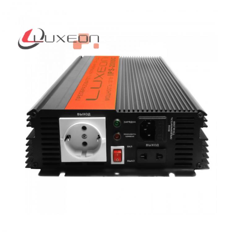 Инвертор напряжения Luxeon IPS-2000C, 12V-220V