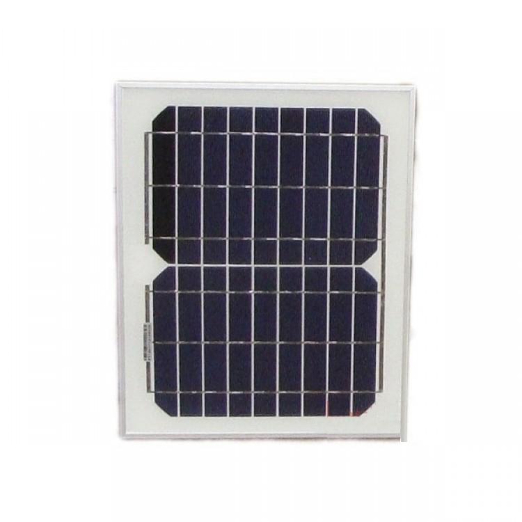 Солнечная панель монокристаллическая 12В 10Вт, 360х282х17, 1,2кг