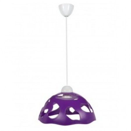 Светильник ERKA 1304, потолочный, 60W, фиолетовый, Е27