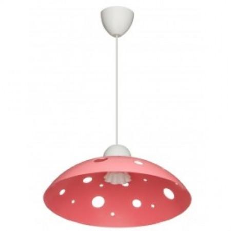 Светильник ERKA 1302, потолочный, 60W, розовый, Е27