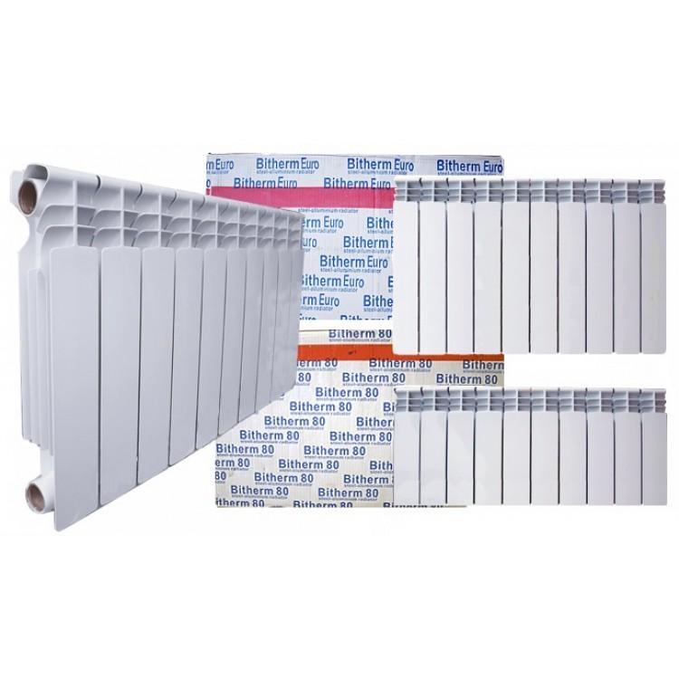 Радиатор отопления биметаллический BITERM 350*800