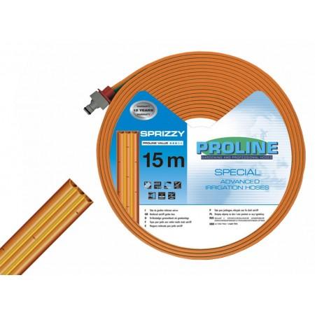 Шланг для капельного полива трехканальный Proline1/2 (15м)