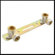 Планка для металлопластиковых труб в сборе 16х1/2 В