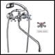 """Смеситель для ванной O&L ZERIX-DFR-A ручка WSL-605 (букса 1/2"""")"""