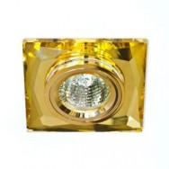 Светильник точечный Feron 8150-2/(CD272) желтый-золото MR16 50W   YW/GD