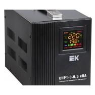 Стабилизатор напряжения переносной IEK HOME СНР1-0-0,5кВА