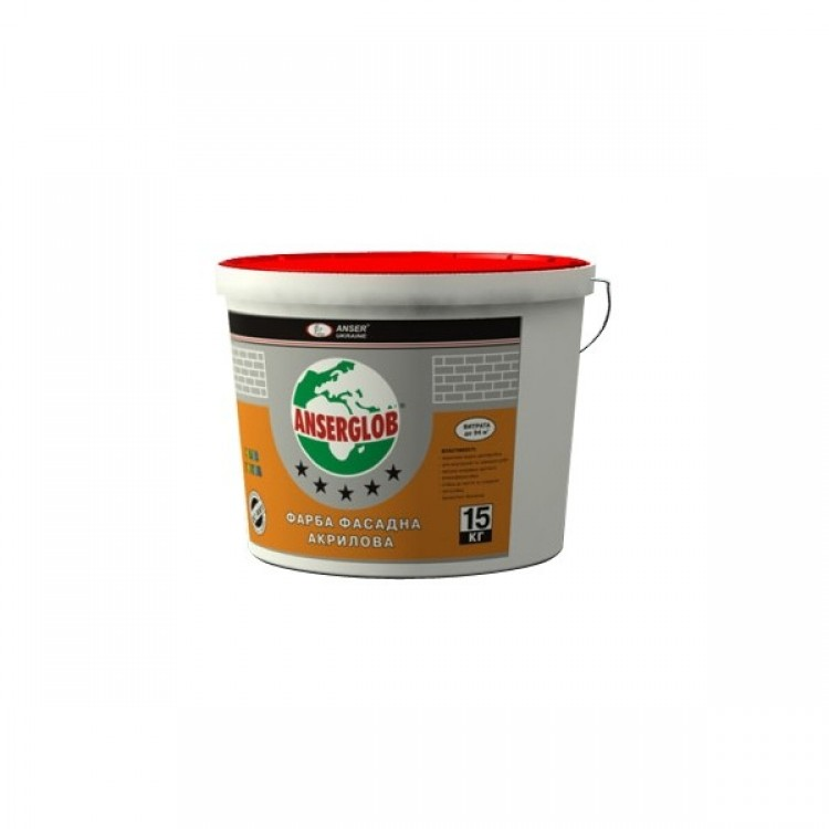 Краска фасадная Анцерглоб 1,4 кг