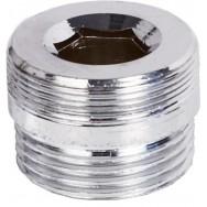 Переходник-муфта металический на дивертор