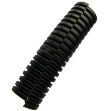 Гофра разрезная автомобильная черная d 11мм
