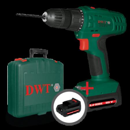 Аккумуляторный шуруповерт DWT ABS-18 SLI-2 BMC-N