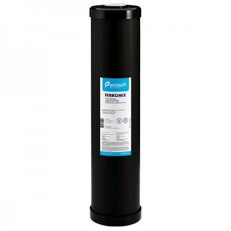 """Картридж для удаления железа Ecosoft ferromix """"20"""" угольный CRVF4520ECO"""