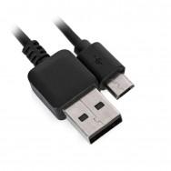 Шнур USB А - miсro USB Samsung 1м черный long pin