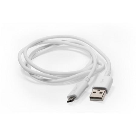 Шнур USB А - miсro USB Samsung 1.5м белый