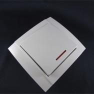 Выключатель одноклавишный с подсветкой скрытый Аватар