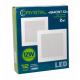 Светильник светодиодный встраиваемый LED GIACINT 12W Slim квадрат 4000K CRYSTAL