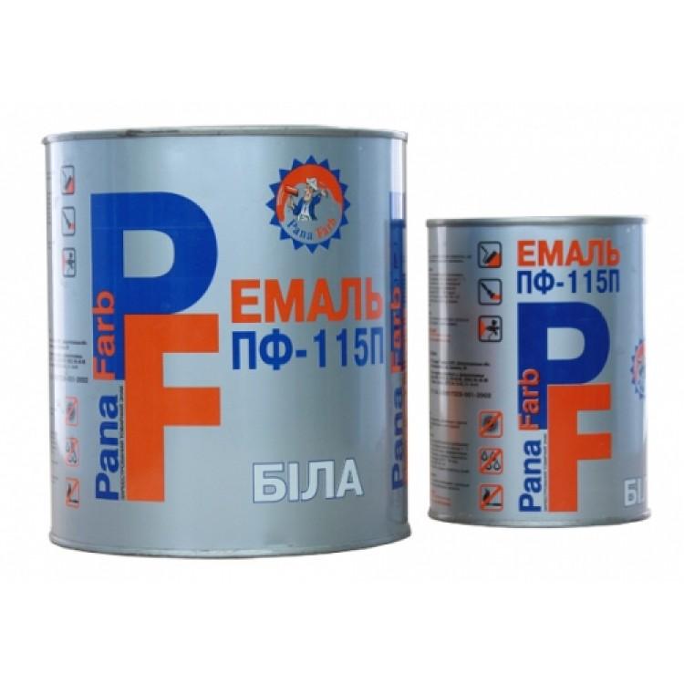 Эмаль ПФ-115П Арктика белая Панафарб 0,9кг
