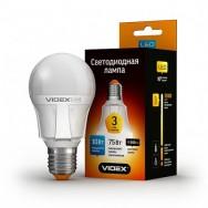 Светодиодная лампа LED VIDEX A60е 10W E27 3000K 220V
