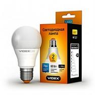 Светодиодная лампа LED VIDEX A60е 7W E27 3000K 220V