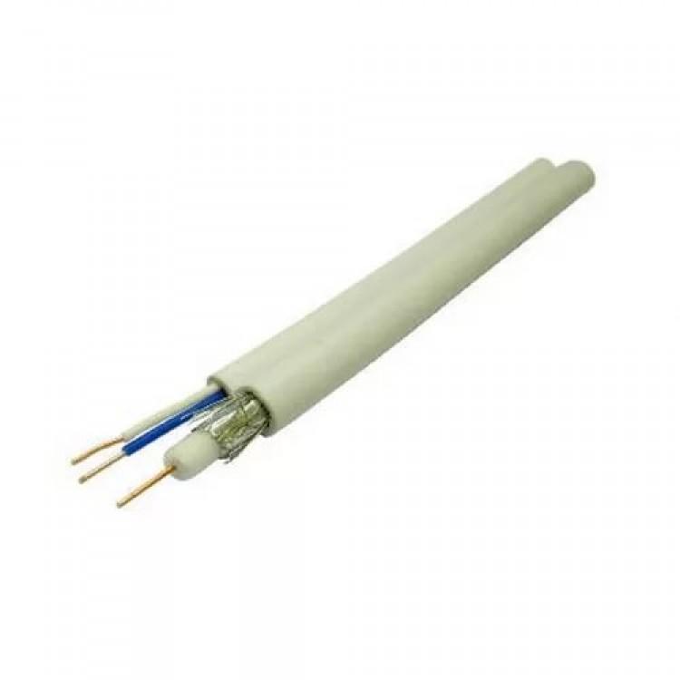 Коаксиальный кабель Dialan 3C2V (1x0.5Cu+48x0.1Cu) + 2x0,5 75 Ом