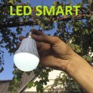 Светодиодная лампа с аккумулятором 12W E27 LED SMART