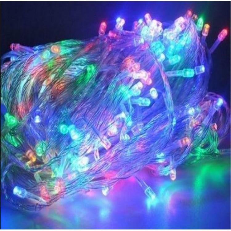 Гирлянда светодиодная LED100 прозрачная 5м multi