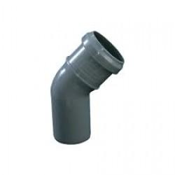 Канализационное колено 50х45
