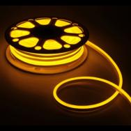 Светодиодный NEON SMD2835-120 8W желтый 220В