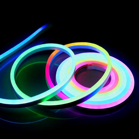 Светодиодный NEON SMD5050-60 8W RGB 220В