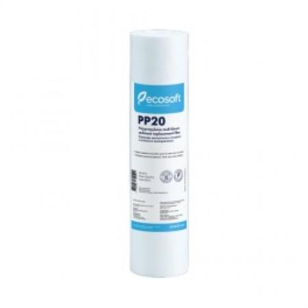 """Картридж CPV251020ECO 10"""" полипропилен 20 микрон Ecosoft"""